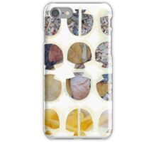 Multifaceted No.4, Stones and Roses (Light, Time & Facade Series) iPhone Case/Skin
