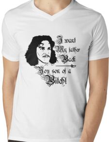 I Want My father Back Mens V-Neck T-Shirt
