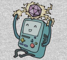 BMO loves D&D by wendrin