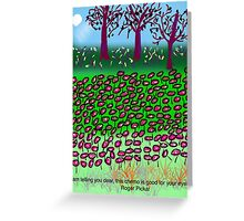 This Chemo Is Good For Your Eyes, by Roger Pickar, Goofy America Greeting Card