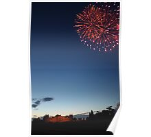 Blenheim Fireworks Poster