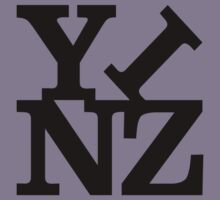 Yinz Black Lettering Kids Clothes