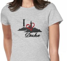 Haven I Love Duke Logo Womens Fitted T-Shirt