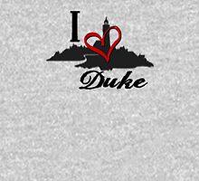 Haven I Love Duke Logo Womens Fitted T-Shirt