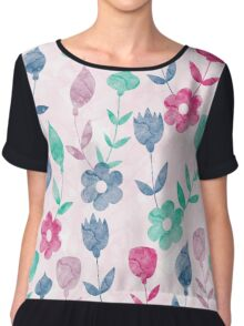 Lovely Pattern II Chiffon Top