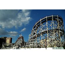 The Cyclone - Coney Island Photographic Print