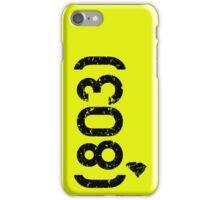Area Code 803 South Carolina iPhone Case/Skin