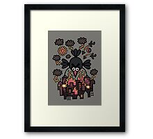 All is lost, hyperpoultry's wrath prevails Framed Print