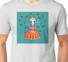 Skelly Queen Has a Cuppa Unisex T-Shirt