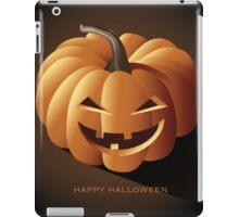 Happy halloween jack o lantern iPad Case/Skin