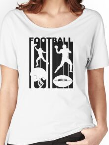 Retro Football Players Women's Relaxed Fit T-Shirt