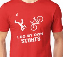 I Do My Own Stunts Cycling - Funny Bike Unisex T-Shirt