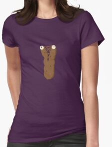 Poo Womens Fitted T-Shirt