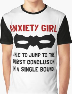 Anxiety Girl Graphic T-Shirt