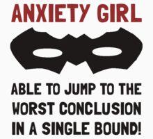 Anxiety Girl Kids Tee