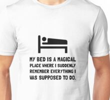 Bed Magical Place Unisex T-Shirt