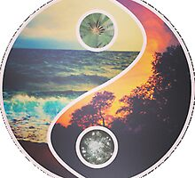 Tropical Yin Yang by SublimeApparel