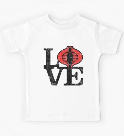 LOVE COBRA Kids Tee