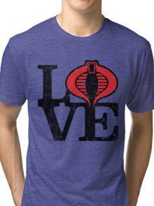 LOVE COBRA Tri-blend T-Shirt