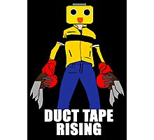 Duct Tape Rising Photographic Print