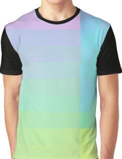 Pastel Gradient Graphic T-Shirt
