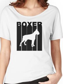 Retro Boxer Women's Relaxed Fit T-Shirt