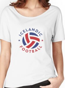 ICELAND Soccer T-shirt Icelandic Football Women's Relaxed Fit T-Shirt