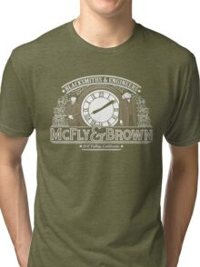 McFly & Brown Blacksmiths Tri-blend T-Shirt