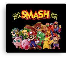 Super Smash Bros. 64 Canvas Print