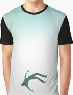 Man Falling Graphic T-Shirt