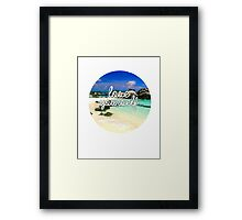 Lose Yourself. Framed Print