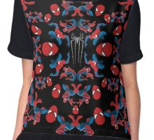 Spider motif Chiffon Top