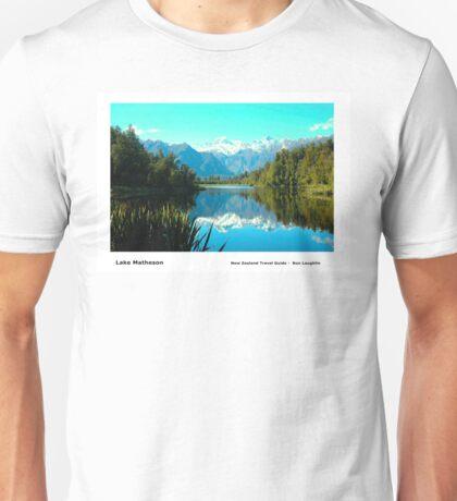 Lake Matheson Unisex T-Shirt