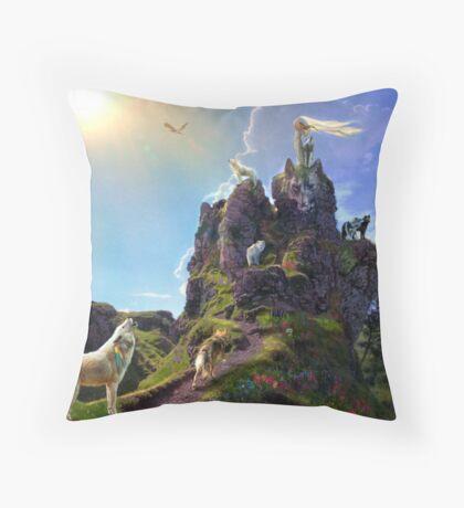 Summer Song Throw Pillow