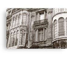 Paris architecture monotone Canvas Print