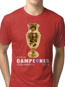 CAMPEONES, CHILE, COPA AMERICA 2016 Tri-blend T-Shirt