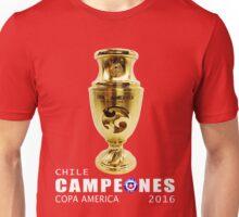 CAMPEONES, CHILE, COPA AMERICA 2016 Unisex T-Shirt