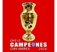 CAMPEONES, CHILE, COPA AMERICA 2016 Photographic Print