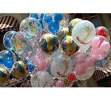 Walt Disney World Balloons Photographic Print