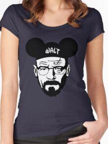 WALT MOUSE EARS Women's Fitted Scoop T-Shirt