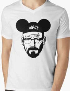 WALT MOUSE EARS Mens V-Neck T-Shirt