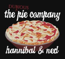 The Dubious Pie Company by woodian