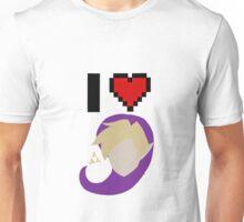 I <3 Link (Purple) Unisex T-Shirt