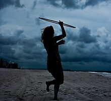 Hooping in the Storm_2 by rebeccameredith