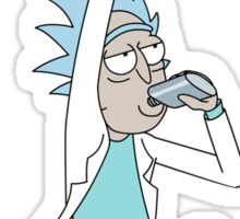 Rick and Morty - Rick with Flask Sticker