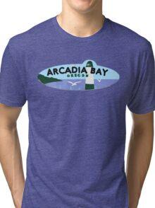 Life is strange Arcadia Bay Oregon Tri-blend T-Shirt