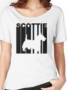 Retro Scottie Women's Relaxed Fit T-Shirt