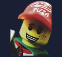 Pizza Delivery Man Kids Tee