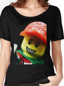 Pizza Delivery Man Women's Relaxed Fit T-Shirt