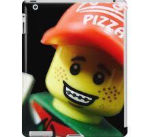 Pizza Delivery Man iPad Case/Skin
